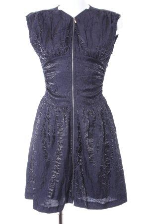 Mina UK A-Linien Kleid dunkelblau Elegant