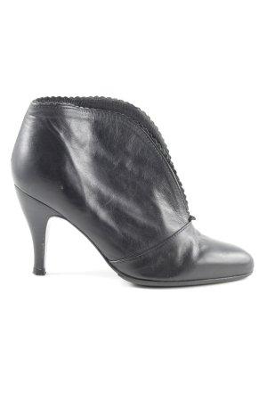 minelli Chaussure à talons carrés noir style décontracté