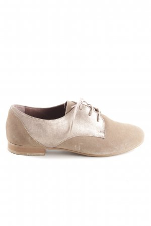 minelli Zapatos estilo Oxford nude-blanco puro estilo «business»