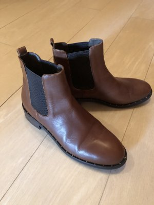 minelli Slip-on Booties brown-dark brown