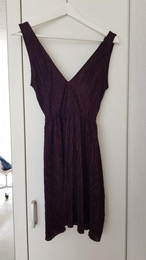 H&M Mini Dress brown violet