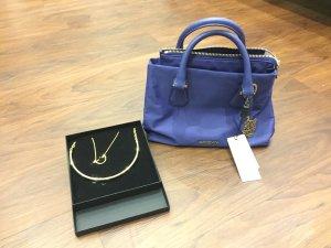 Marc Cain Mini Bag steel blue-cornflower blue nylon