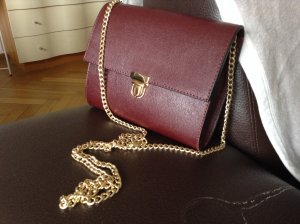 Mini Bag aus Saffiano Leder