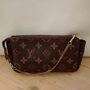 Louis Vuitton Mini Bag bronze-colored-camel imitation leather