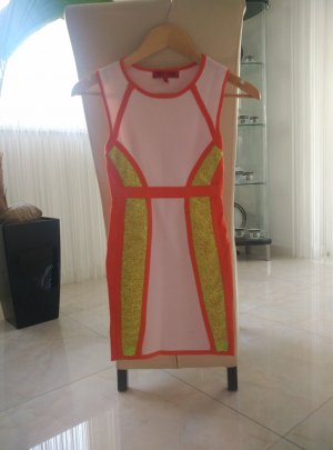 Mini Bandage Kleid XS 32 34 Party-Look Sommerkleid wie Neu