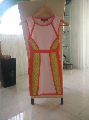 Mini Bandage Kleid XS 32 34 Party-Look Sommerkleid wie Neu