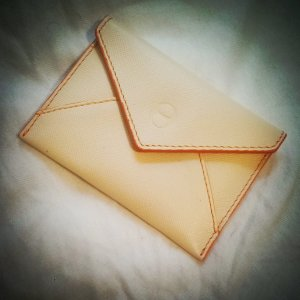 Business Bag orange-cream
