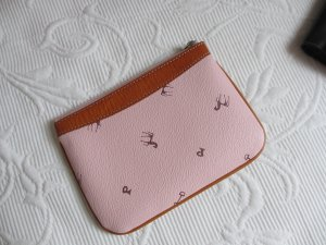 Pochette multicolored imitation leather