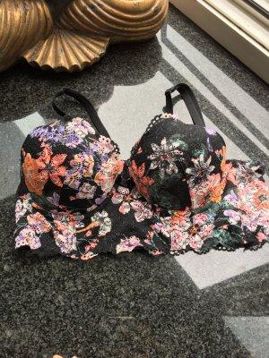 Mini Corsage Spitze Blüten H&M bunt 75B
