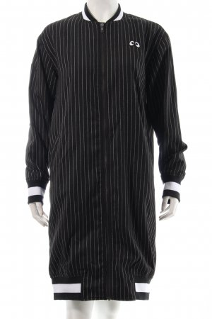 Mini Cream Lange Jacke schwarz-weiß Casual-Look
