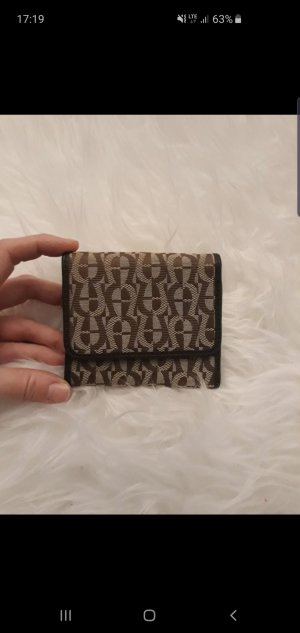 Aigner Wallet light brown-brown leather