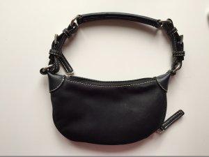 Mini-Handtasche von Hallhuber in schwarz
