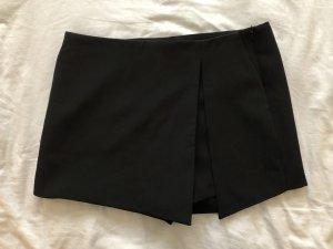 Zara Basic Broekrok zwart Polyester