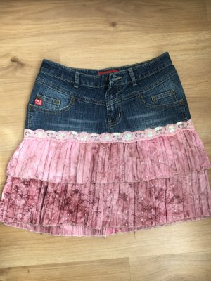 Miniskirt multicolored cotton
