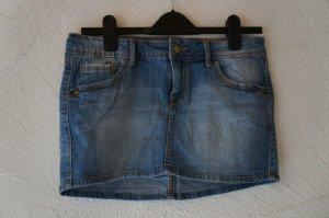 Mini Jeansrock blau Mango Größe 36