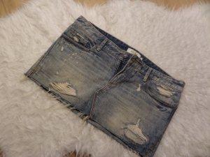 Mini Jeansrock im Used-Look von Abercrombie & Fitch *** Größe US 4 ***