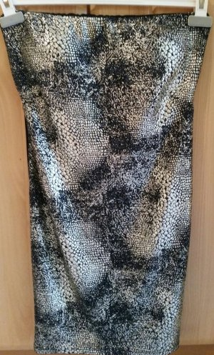 Negligee black-gold-colored