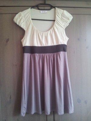 Mini-Kleid * beige * braun * Größe S * Orsay