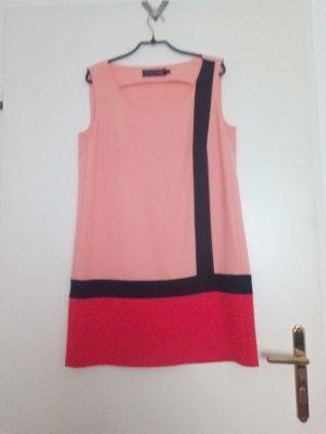 Minx by Eva Lutz Vestido tipo túnica negro-salmón