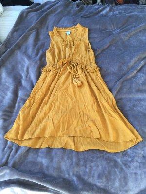 Mini Kleid im Crinkle-Stoff