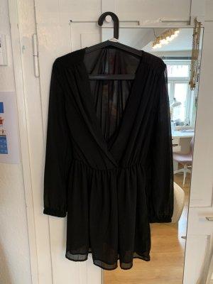 Mini Kleid in Wickeloptik