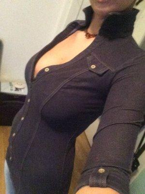 Mini Kleid Jeans Kleid
