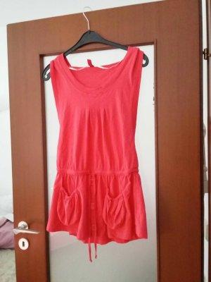 Mini-Kleid mit tiefem seitlichen Ausschnitt
