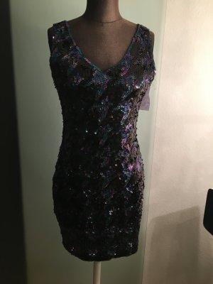 Mini Kleid Partykkeid Pailetten Gr 40 M von Mandi