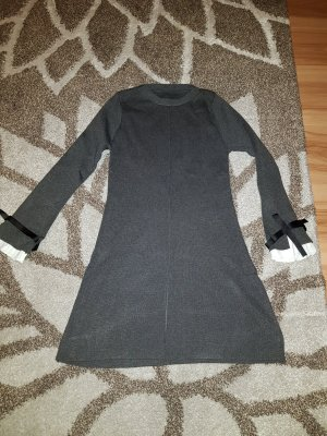 Knitted Dress white-anthracite