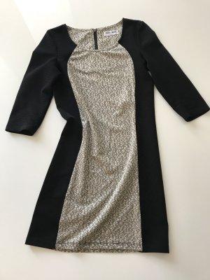 Mini Kleid Vero Moda S 36 schwarz animalprint
