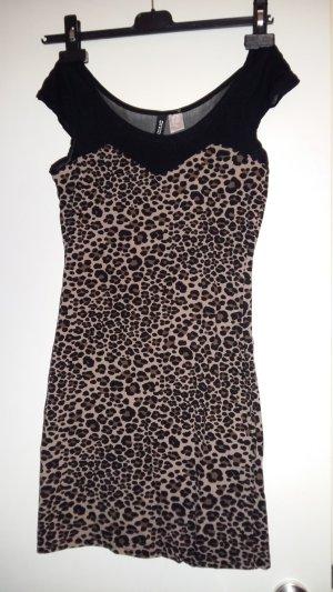 H&M Mini Dress black-brown