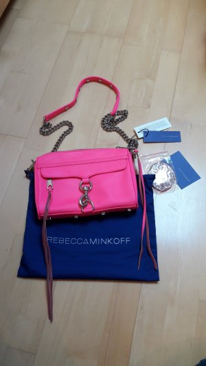 Mini Mac in electric pink von Rebecca Minkoff