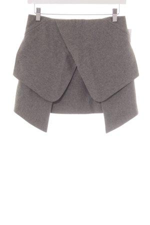 Mini Mini-jupe gris