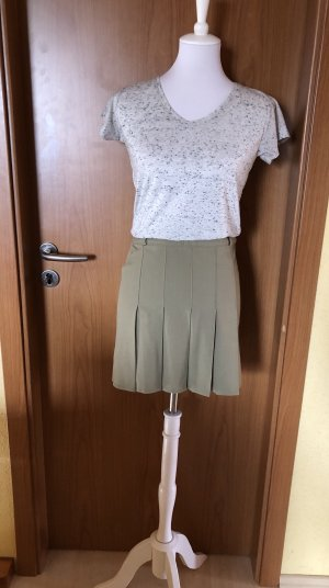 TR-900 Pleated Skirt khaki-green grey
