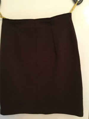 Miniskirt bronze-colored polyester