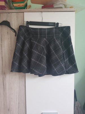 Clockhouse Jupe à plis noir-gris