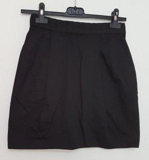 H&M Jupe taille haute noir