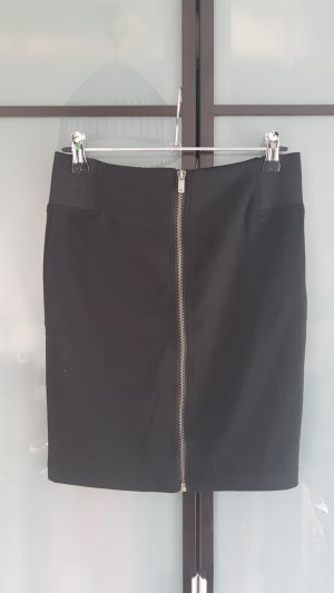 Ann Christine High Waist Skirt black