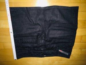Diesel Jupe en jeans multicolore coton