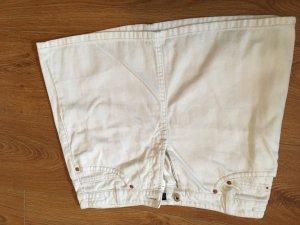 Mini Rock Jeans Weiss