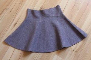 Review Minifalda lila grisáceo-color plata