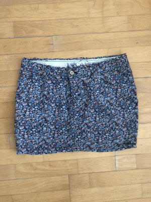 Mini Rock Marc O'Polo 38 S Blumen blau