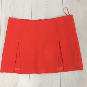 Topshop Mini-jupe rouge polyester