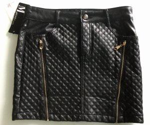 100% Fashion Miniskirt black
