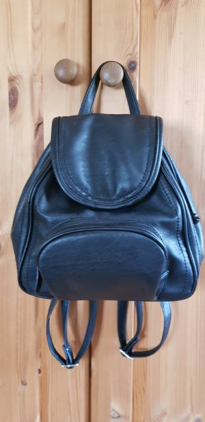 Anna Field Backpack black-silver-colored