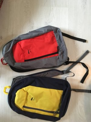 Zaino rosso-giallo