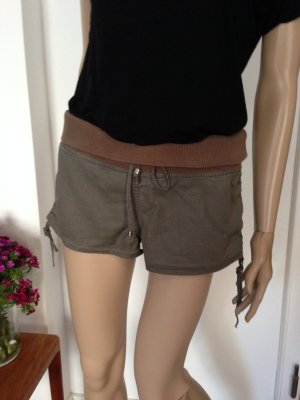 +Mini Shorts Leinen+