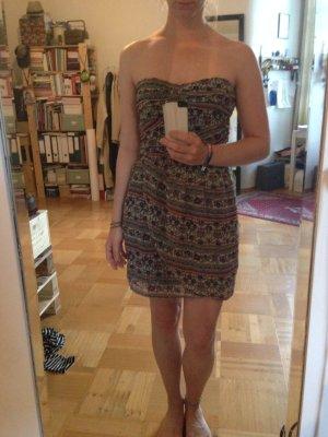 Mini Sommer Kleid Bandeau Mango