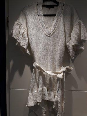Abito di maglia bianco