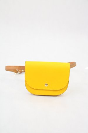 Mini-Tasche in Gelb